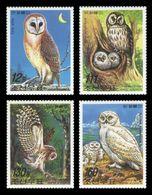 North Korea 2006 Mih. 5149/52 Fauna. Birds. Owls MNH ** - Corea Del Nord