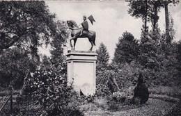 Tiegem, Standbeeld Van St Arnoldus, Krijgsman (pk45355) - Anzegem