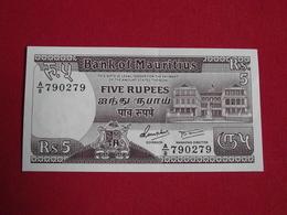 Ile Maurice / Mauritius 5 Rupees 1985 Pick 34 - Sup ! (CLVG56) - Maurice