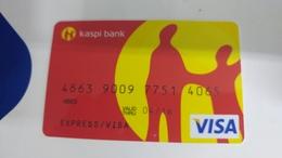 Kazakhstan-credict Card-(557)-(4065-773)-used Card+1 Card Prepiad Free - Geldkarten (Ablauf Min. 10 Jahre)