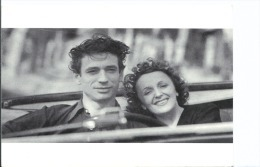 CPM - Yves Montand Et Edith Piaf - Collection Music Hall - - Artistes