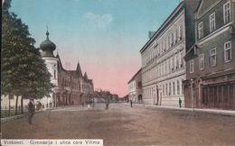 Vinkovci Gimnazija I Ulica Cara Vilima - Croatia