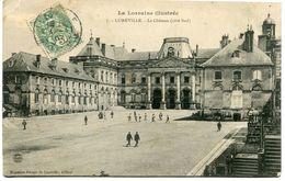 CPA - Carte Postale - France - Lunéville - Le Château - 1907 (CP1499) - Luneville