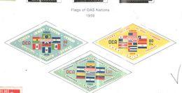 Ecuador PA 1959  OAS Nations Scott.C352/354+ See Scan On Scott.Page - Ecuador