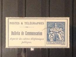France - Postes Et Télégraphes N° 16 - Oblitération Très Légère - Télégraphes Et Téléphones