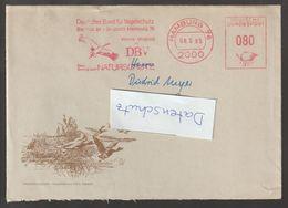T 185) AFSt Hamburg 1985: DBV Vogelschutz Naturschutz Storch - Storks & Long-legged Wading Birds