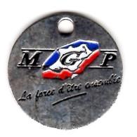 JETON DE CADDIE A VOIR (VERSO Mgp.fr) - Trolley Token/Shopping Trolley Chip