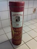 Boite-étui Métallique - Whisky ABERLOUR 10 Ans D'age 1990 - Whisky