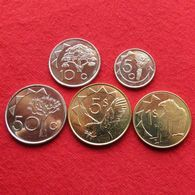 Namibia Set  5 10 50 Cent 1 5 $ 2010 - 2012 UNCºº - Namibia