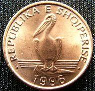 Albania 1 Lek 1996 Pelican Albanie  UNCºº - Albania