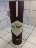 Boite-étui Carton - Whisky GLEN DEVERON  10 Ans D'age 1994 - Whisky