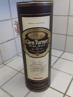 2 Boites -étui Carton - Whisky GLEN TURNER  8 Et 12 Ans D'age - Whisky