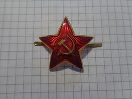 Russie L'URSS Cocarde. étoile Rouge. Marine Militaire - Russia