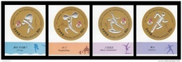 North Korea 2016 Mih. 6317B/20B Olympic Games In Rio (imperf) MNH ** - Korea (Nord-)