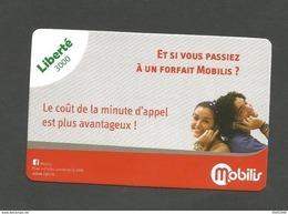 36000cfp   Forfait Mobilis  (clasmonal) - New Caledonia