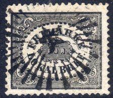 Sweden 1858 (3ø) Black Fine Used No Thins - Suecia