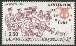 390 St-Pierre Miquelon Musique Music Orchestre Orchestra MNH ** Neuf SC (f3-SPM-119) - Musique