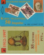 TARJETA TELEFONICA DE ALBANIA. 12.98 (007) - Albania