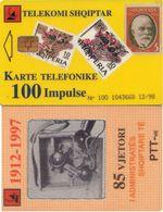TARJETA TELEFONICA DE ALBANIA. 12.98 (009) - Albania