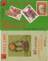 TARJETA TELEFONICA DE ALBANIA. 11.98 (010) - Albanie