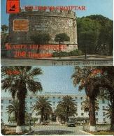 TARJETA TELEFONICA DE ALBANIA. 03.99 (018) - Albanien