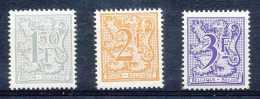 NB- [151720] **/Mnh-N° 1902/04, Chiffre Sur Lion Et Banderole, Papier Blanc, SNC - Ongebruikt