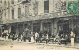"CPA FRANCE 26 ""Valence, Grand Café De Paris"" - Valence"