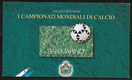 San Marino - 1998 Collectors Stamp Booklet - World Cup Football France '98 - MNH - Carnets