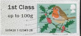 GB 2010 Birds (1st Issue) 1st Type 4 Used Issuing Code 009420 [32/111/ND] - Great Britain