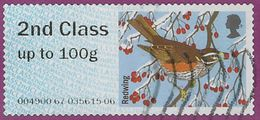 GB 2015 Winter Fur And Feathers 2nd Type 2 Issuing Office 004900 - Great Britain