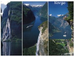 (500) Norway - Fjord And Cruise Ship - Norway
