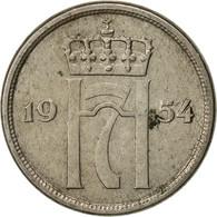 Norvège, Haakon VII, 10 Öre, 1954, TB, Copper-nickel, KM:396 - Norvège