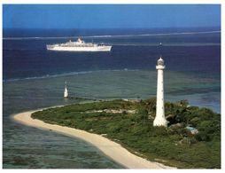 (500) New Caledonia - Ilot Amedée With Lighthouse And Cruise Ship - Piroscafi