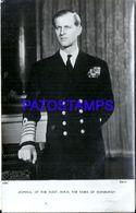 91746 ROYALTY DUKE OF EDINBURGH SCOTLAND BREAK POSTAL POSTCARD - Familles Royales