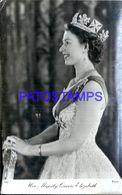 91748 ROYALTY HER MAJESTY QUEEN ELIZABETH UK POSTAL POSTCARD - Familles Royales