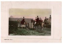 (815) Very Old Postcard - UK - Horses - 1907 - Pferde
