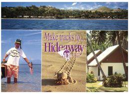 (915) Fiji Hideaway Resort (with Crab Shell On Beach) - Fidji