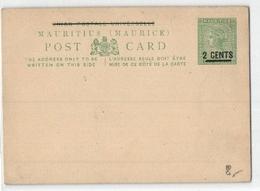Two Cents Ganzsache (449470) - Mauritius (...-1967)