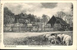 41333829 Worpswede Bauernhaus Schafe Worpswede - Worpswede