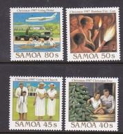 Samoa SG 764-767 1987 Christmas,mint Never Hinged - Samoa