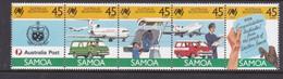 Samoa SG 768-772 1987 Bicentenary Of Sustralian Settlement 2nd Issue,mint Never Hinged - Samoa