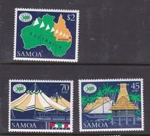 Samoa SG 779-781  1988 Expo 88 Brisbane,mint Never Hinged - Samoa