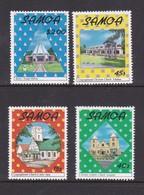 Samoa SG 813-816,1988 Christmas,mint Never Hinged - Samoa