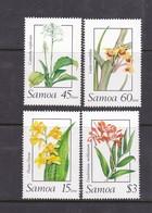 Samoa SG 818-821  1989  Orchids,mint Never Hinged - Samoa