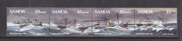 Samoa SG 822-825 1989 Centenary Of Great Apia Hurricane,mint Never Hinged - Samoa