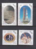 Samoa SG 830-833 1989 Moonlanding 20th Anniversary,mint Never Hinged - Samoa