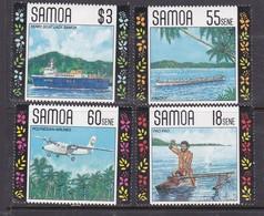 Samoa SG 840-843 1990 Local Transports,mint Never Hinged - Samoa