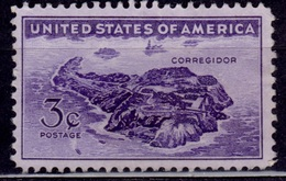 United States, 1944, View Of Corregidor, Sc#925, Used - United States