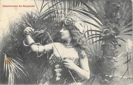 Femme Charmeuse De Serpents - Edition Bergeret - Carte Non Circulée - Vrouwen