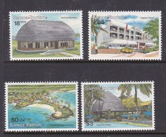 Samoa SG 847-850  1990 Tourism,mint Never Hinged - Samoa